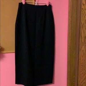 Elegant classic pencil skirt
